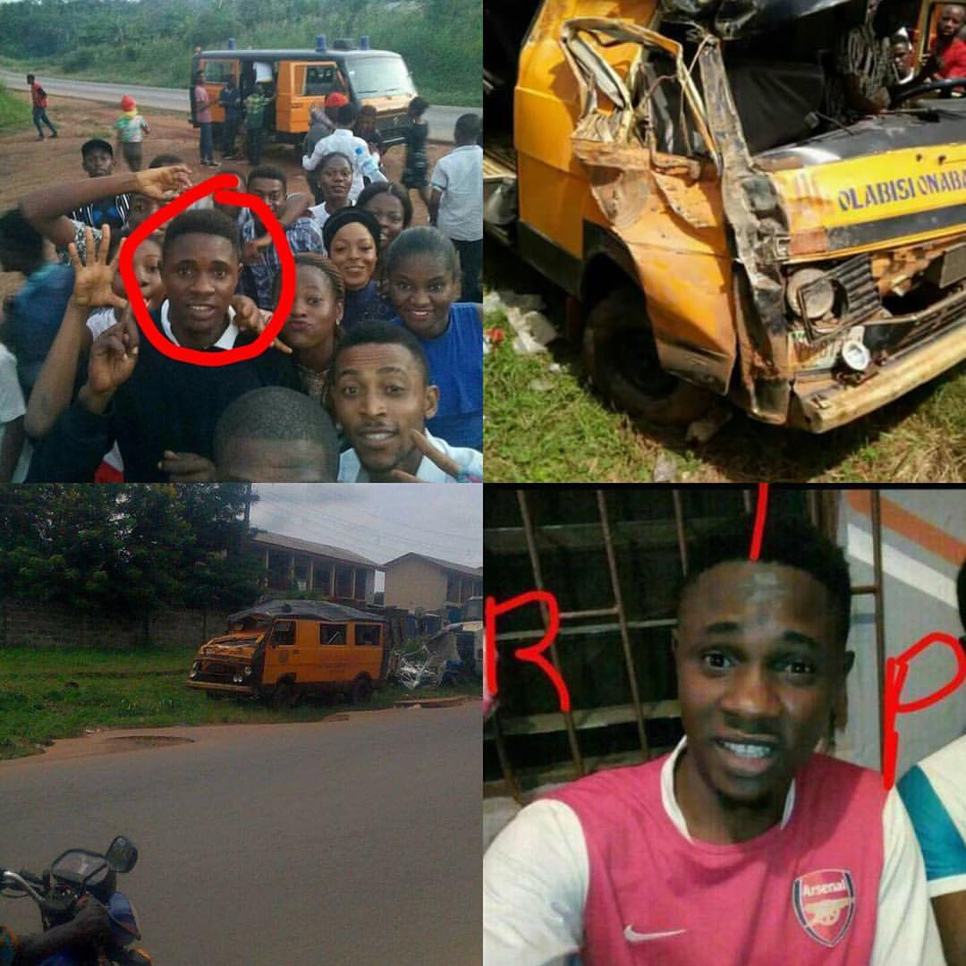 Excursion Disaster: OOU NASS President Dies In An Accident (Pics) shocked