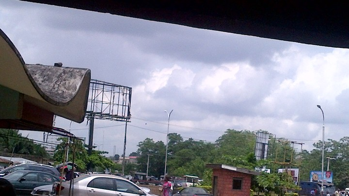 University Of Ibadan Students Protest Against Management Amid Heavy Security