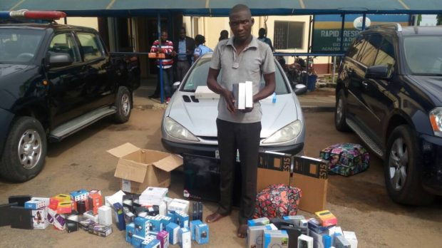 SLOT Driver Flees With N5.95M Worth Of Phone (Photo)