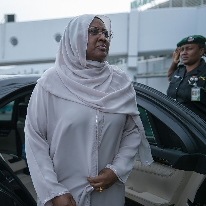 Aisha Buhari Leaves Nigeria For London To See Sick President Buhari (Photos) 5408691_1_jpeg83b5009e040969ee7b60362ad7426573