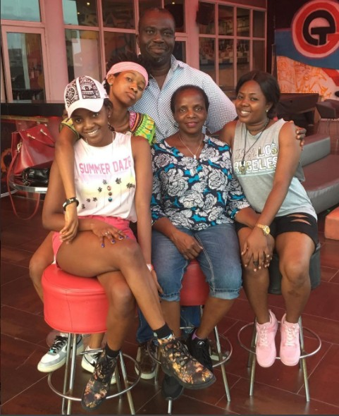 Simi Shows Off Her Lovely Family