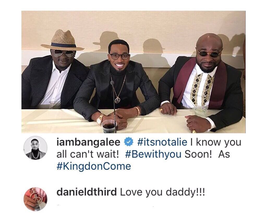 Dbanj Son Is Now On Instagram