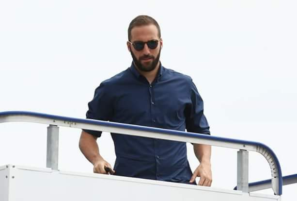 Juventus Players Arrive Cardiff For UCL Final (Photos)
