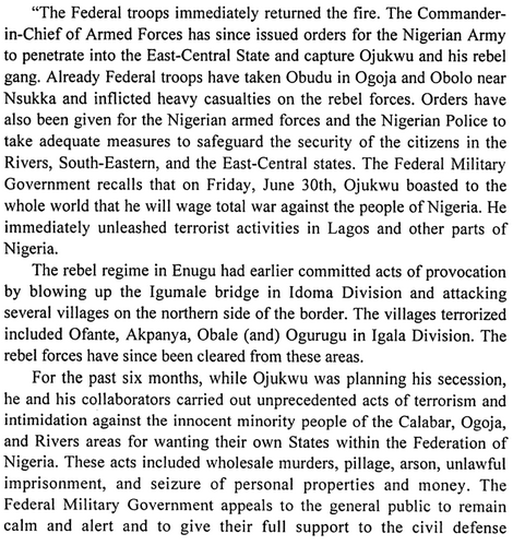 Biafran Soldiers Killed Thousands: The Genocide In Calabar & More