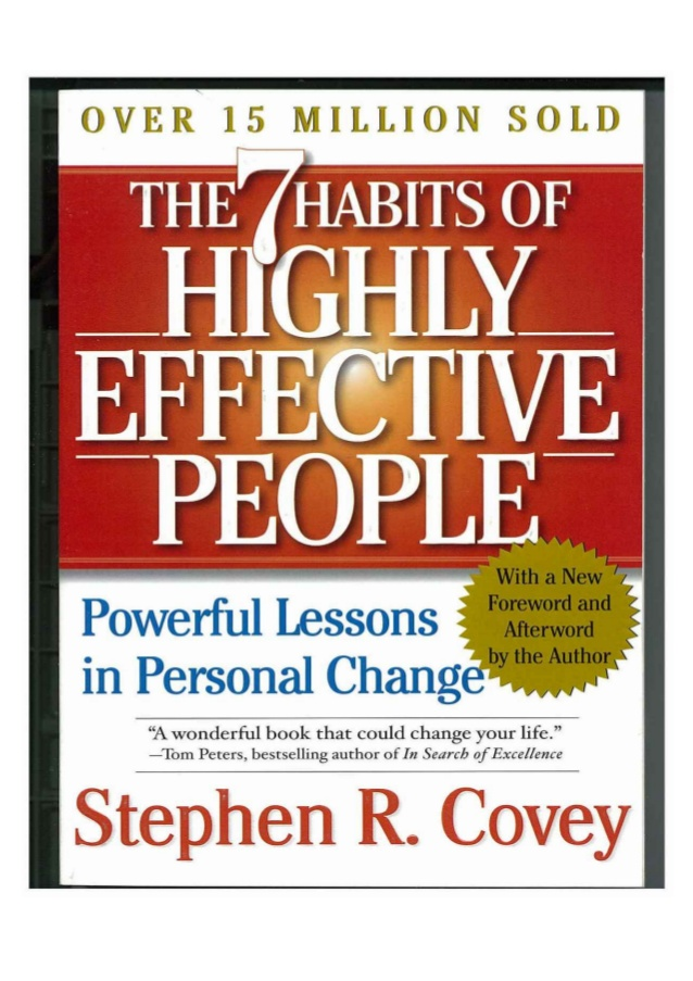 The 7 habits of highly effective people pdf download.