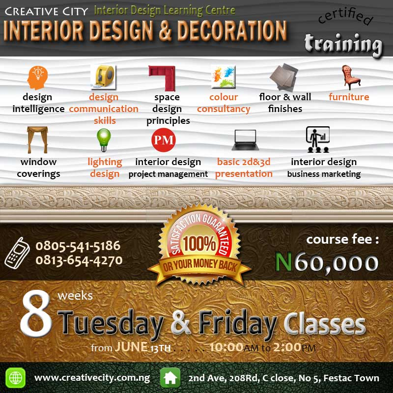 Lets Lead You Into A Vibrant And Lucrative Career In Interior Design Decoration Acquire Exceptional Skills Today