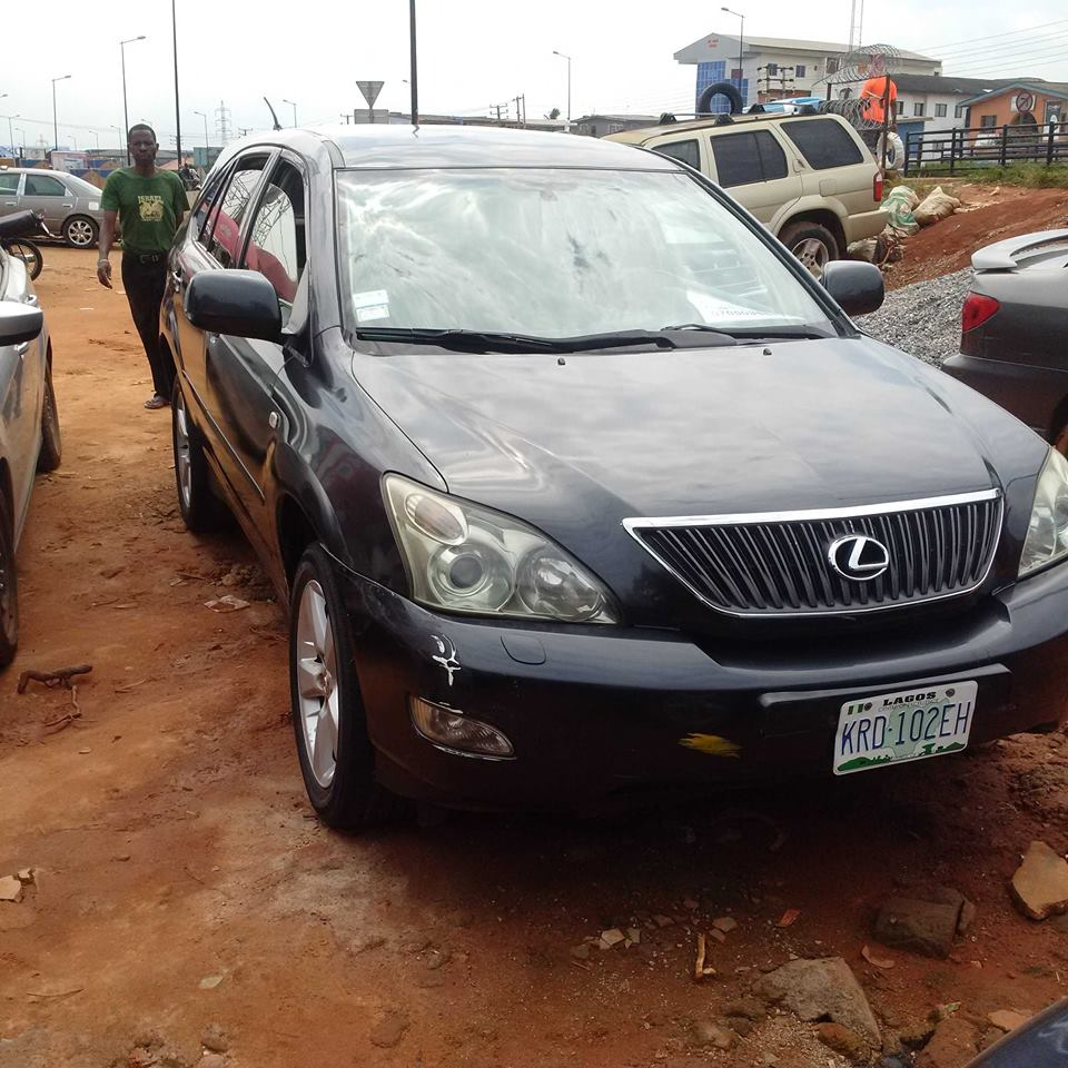2005 Lexus Rx330 Clean First Body For Sale Sold Black More Information Pls Call Or Whatsapp Haslad Links Ltd On 08028364530 08059288682 Blackberry Pin 2bf5a40e Re