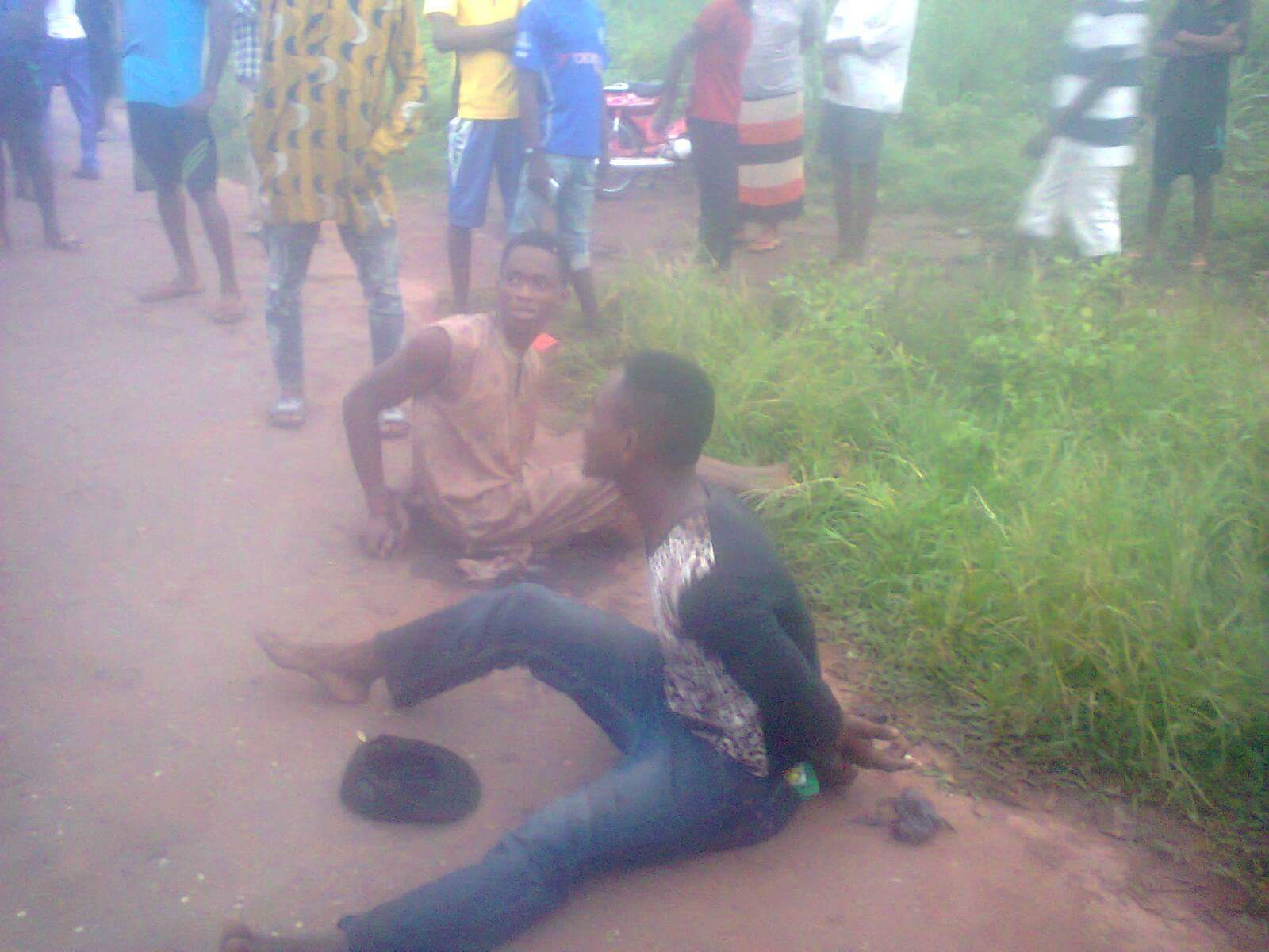 Robbers Caught, Lynched And Burnt In Imo State (Graphic Photos)