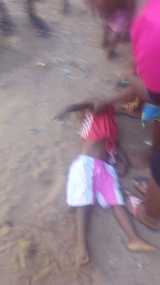 Electric Wire Falls & Electrocutes 3-Year-Old Boy In Makurdi, Benue (Photos)