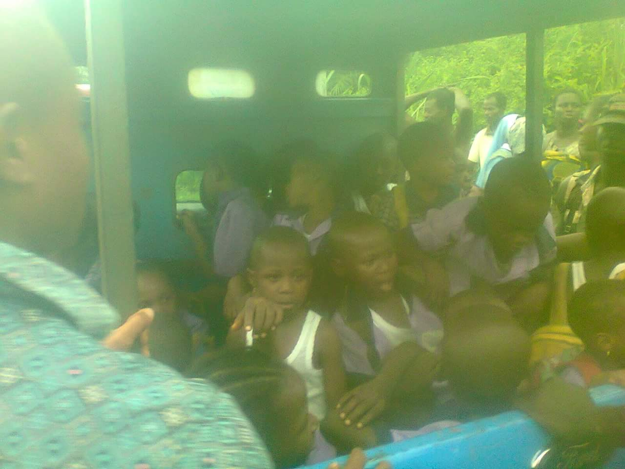 School Bus Conveying Pupils Summersaults In Imo (Photos)