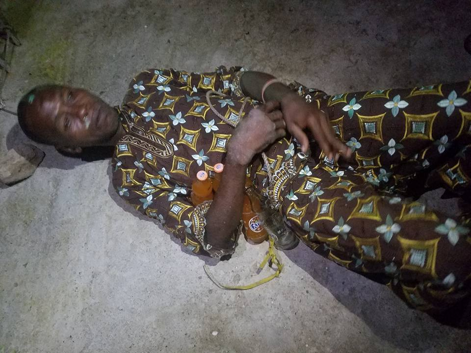 Thief Who Specialises In Stealing Soft Drinks Caught In Lagos Island (photos)