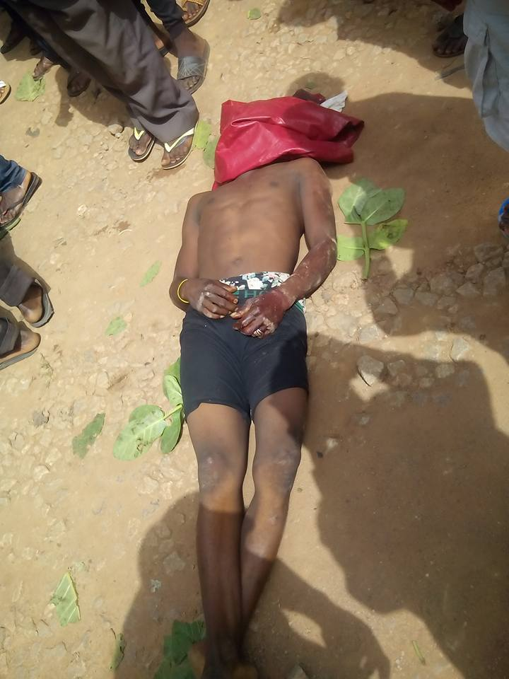 Soldier Shoots Man Dead For Packing Sand Near Military Barracks In Kaduna (Graphic Photos)