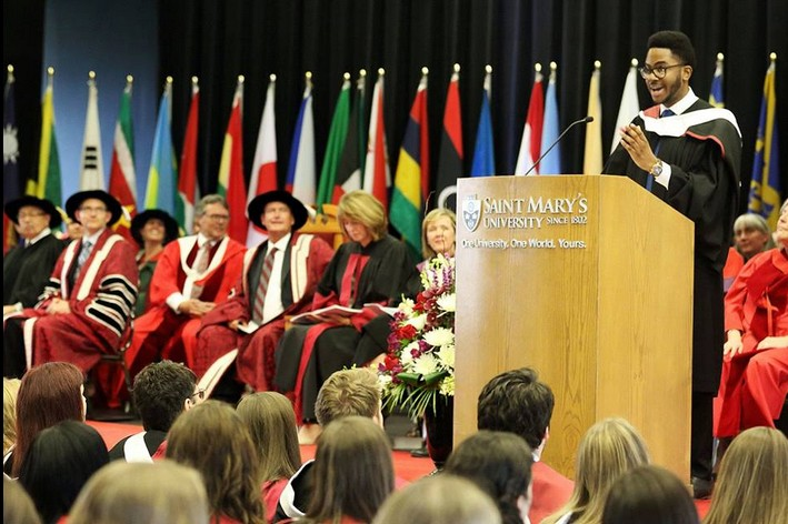 John Paul Nwaezeigwe Graduates With First Class From A Univesity In Canada