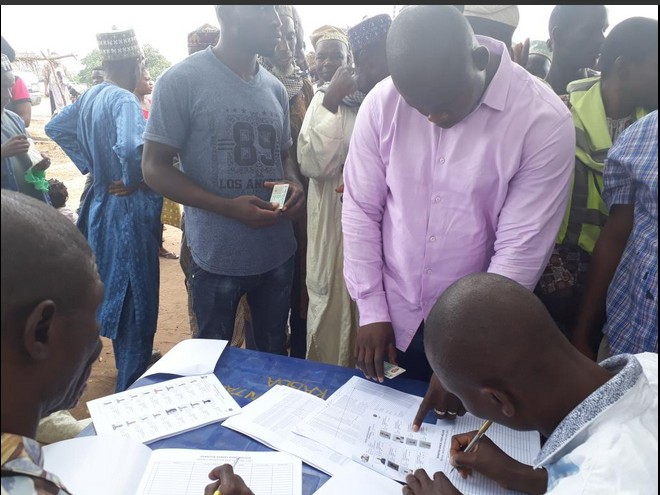 Dino Melaye Constituents Begin Process To Recall Him From The Senate (Photos)