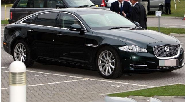 the armoured jaguar xj sentinel - official vehicle of the uk prime