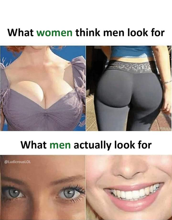 What men look for