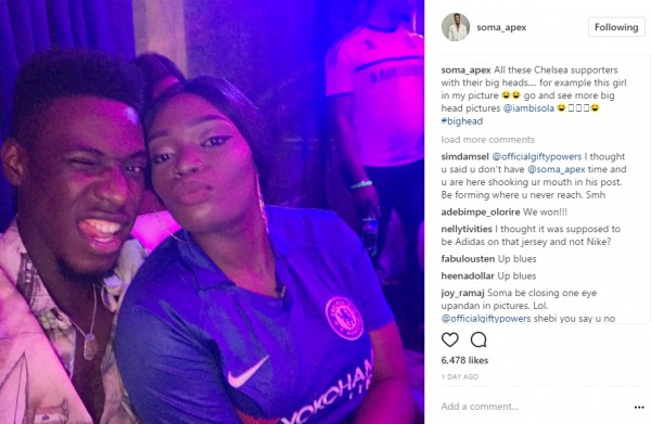 Ex-housemate, Gifty Reconciles With Soma, Fans React (Photos)