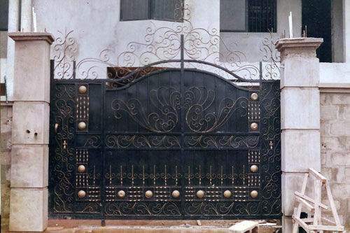 High Quality Gates And Other Steel Works Pictures Included