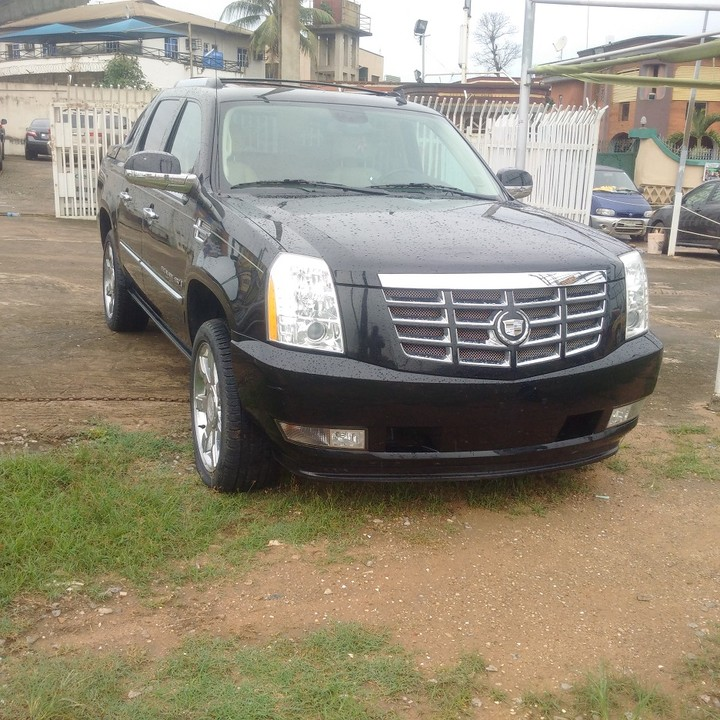 SOLD SOLD 2008 Model Cadillac Escalade Truck