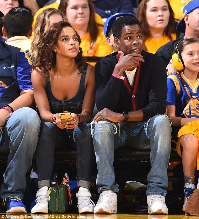 Chris Rock And His Girlfriend Spotted At The NBA Finals ...