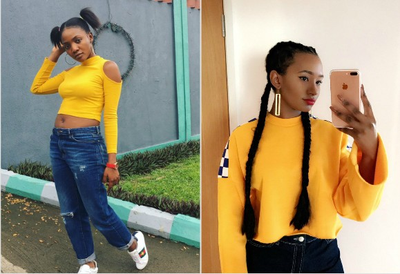 Singer Simi Slammed For Copying Temi Otedola Dress Style, Fan Got Shamed(Photos)