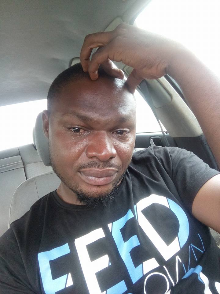 "I'm Leaving Nigeria For The US In 48 Hours"": Man Cries After Being Kidnapped (Pics)"