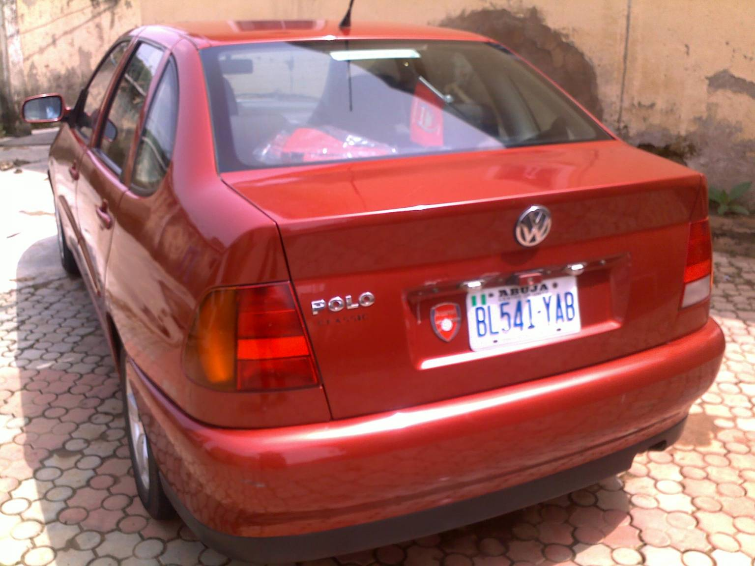 Clean Volkswagen Polo Classic 1 6 2001 Auto 4 Sale Cheaply Negotiable Abuja Autos Nigeria