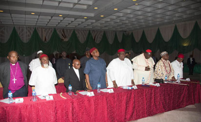 Acting President Osinbajo Meets With Igbo Leaders (PHOTOS)
