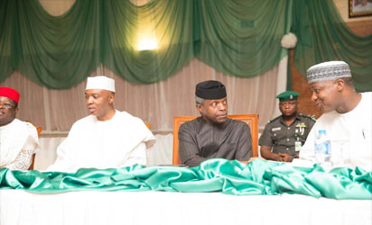 Acting President Osinbajo Meets With Igbo Leaders
