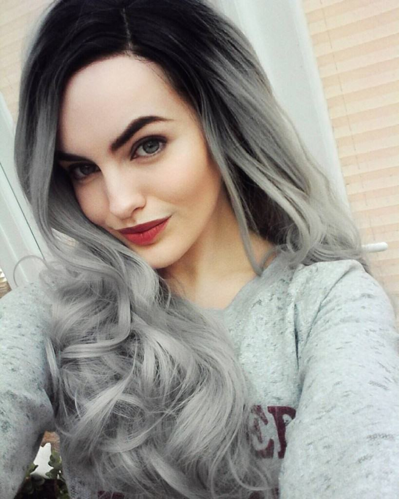 Hair Color Ideas For Gray Hair 2017 2018 Fashion Nigeria