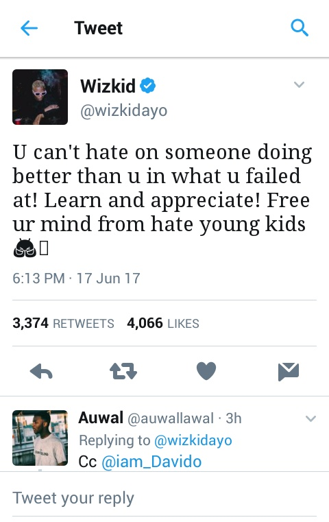 Davido's and wizkid fights dirty on social media (pics) | onihaxy media