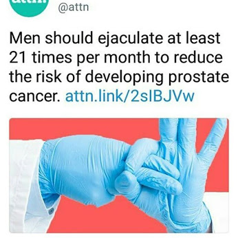 Sex and prostate cancer