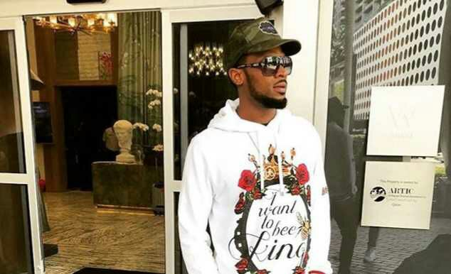 {filename}-D'banj's Wife, Lineo, Shares An Adorable Photo Of Him Cuddling Their Son, Daniel