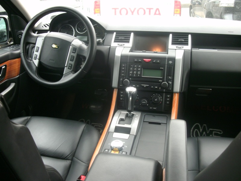 2008 Range Rover Sport Black On Black Autos Nigeria