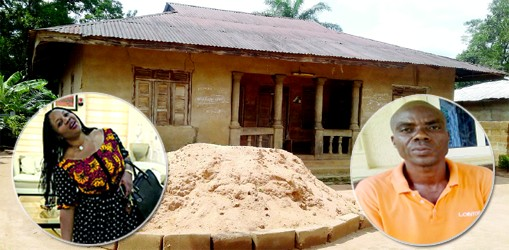 PHOTO: Family House Where Evans' Wife Lived Before She Got Married
