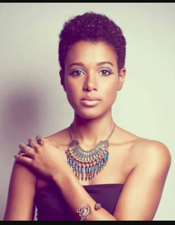 Short Hairstyles And Haircuts For Women With Relaxed Natural Hair