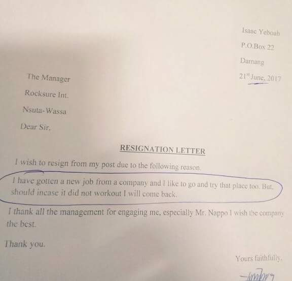 Is This The Best Resignation Letter Ever?