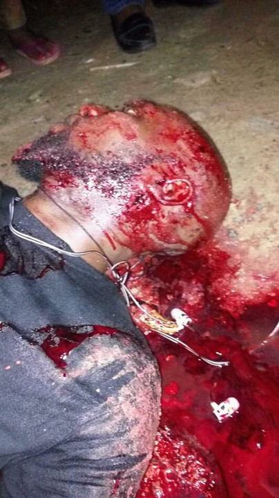5558897 fbimg14985711380879322 jpegab606408e1f7a99b62bb6b2568458dee -  Unknown Gunmen killed A Man In Yenagoa, Bayelsa State (Graphic Pics)