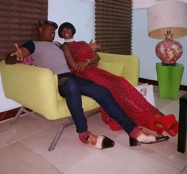 Photos -Kenneth Okonkwo And Ify Eefy Ike Hang Out In Abuja