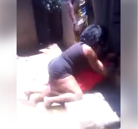 Image result for Two Women Fight Each Other To Show Who's In Charge In Their Compound.