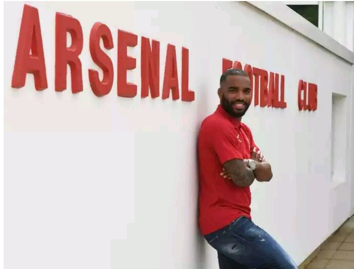 Arsenal Signs Alexandre Lacazette For Record Fee (Photos)