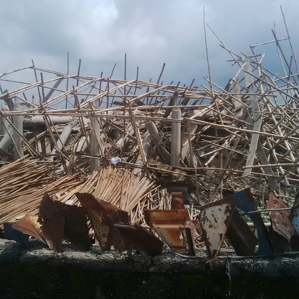 Three Storey Building Under Construction Collapses In Owerri, Imo State (Photos)