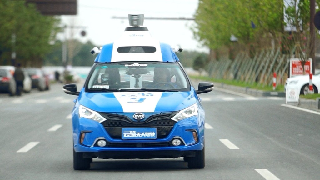 A Top Chinese Tech Company S Demo Of Its Self Driving Car Technology Has Drawn Lot Attention Including From Police