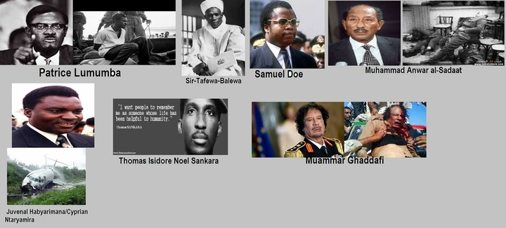 7 Notable Assassinations Of African Leaders In History (photos)