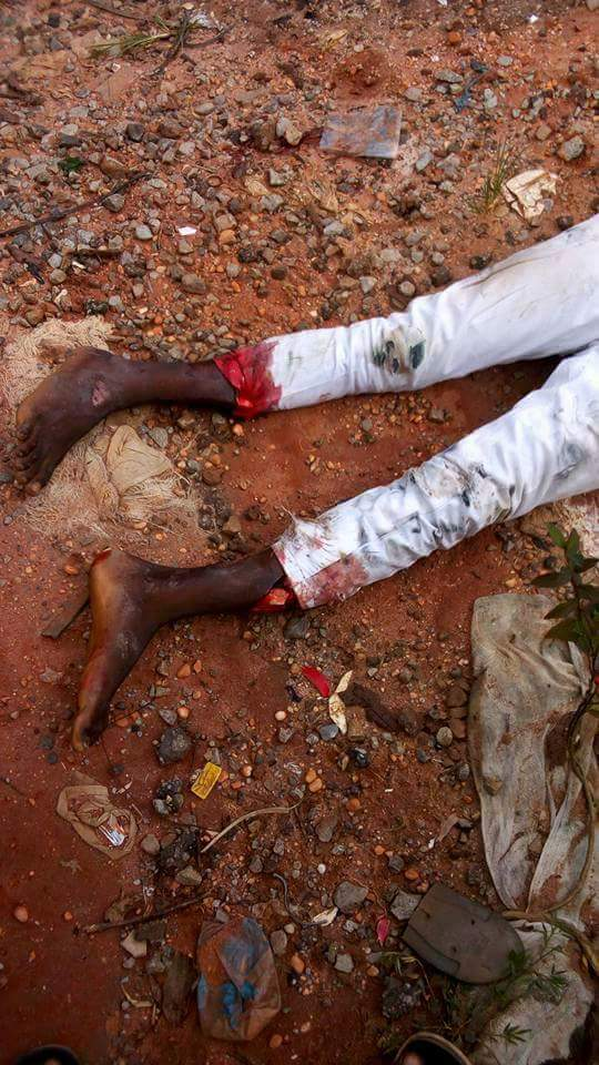 Image result for Graphic Photos of Student Chased to His Death by Masquerade In Imo State