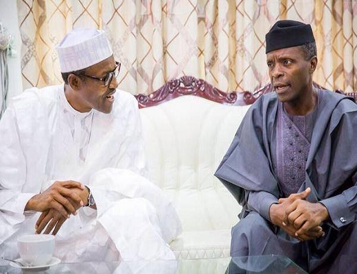 Osinbajo Meets With President Buhari In London Today – Presidency
