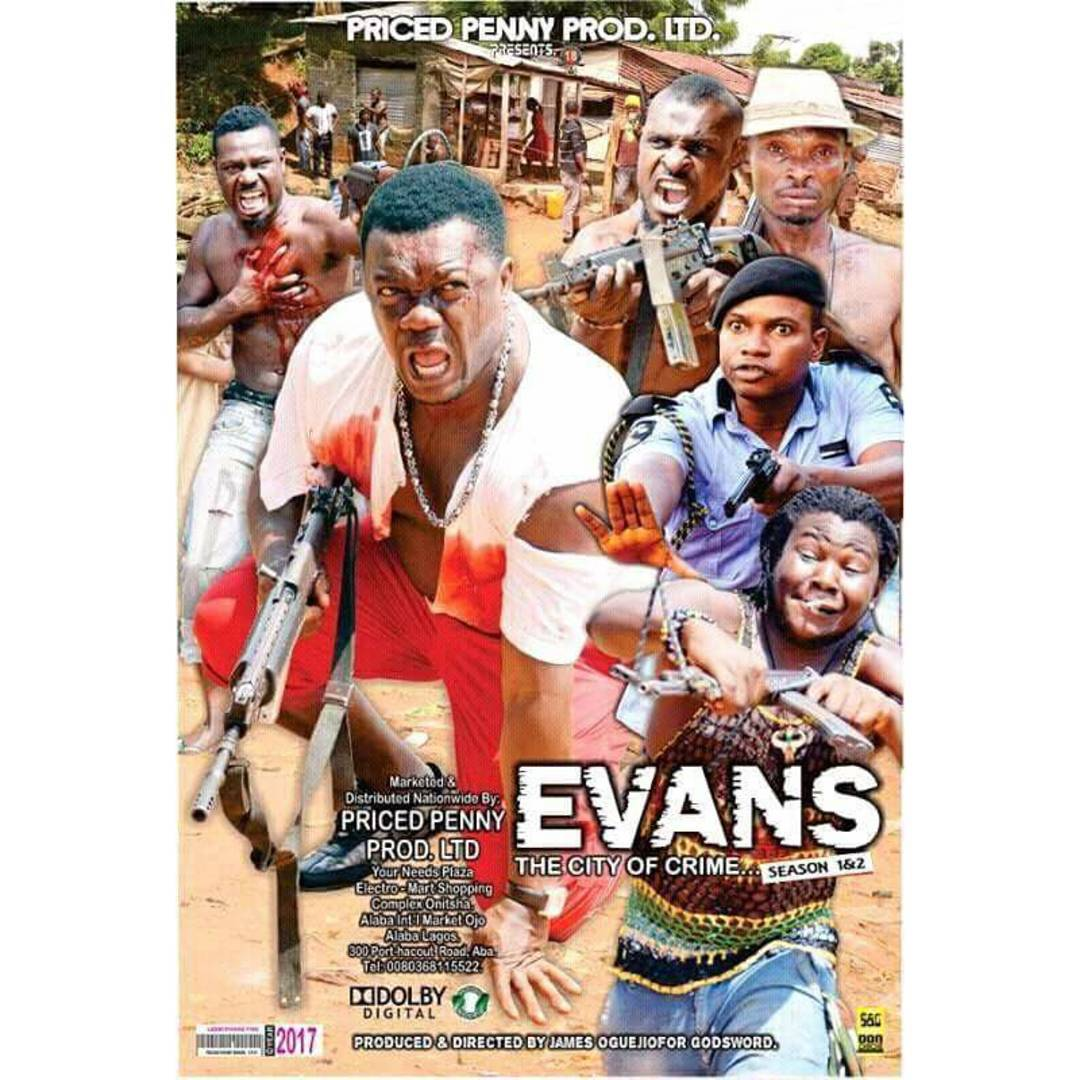 """Evans The City Of Crime"""": Nollywood Movie (Photo)"""