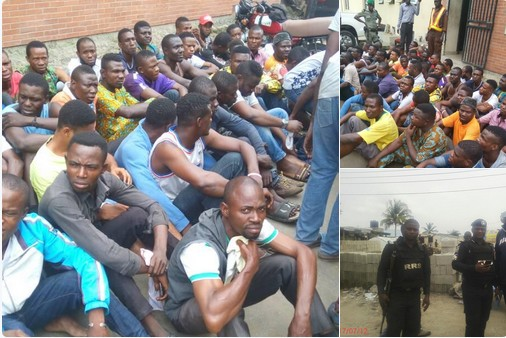 Many Arrested In Ikorodu As Security Operatives Raid Criminal Hideouts. Photos - Crime