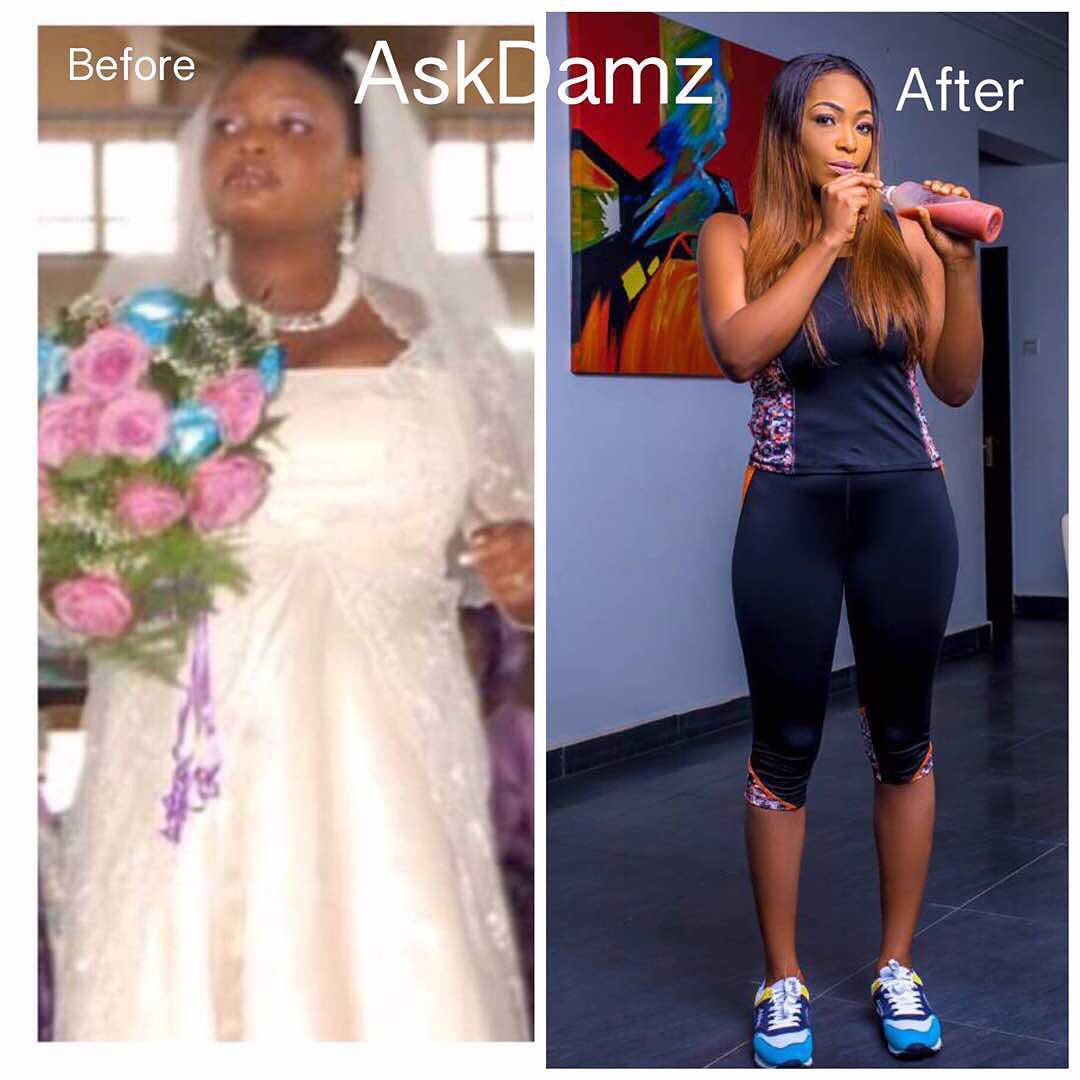 This Hot Nigerian Lady's Weight Loss Photo Got People Confused