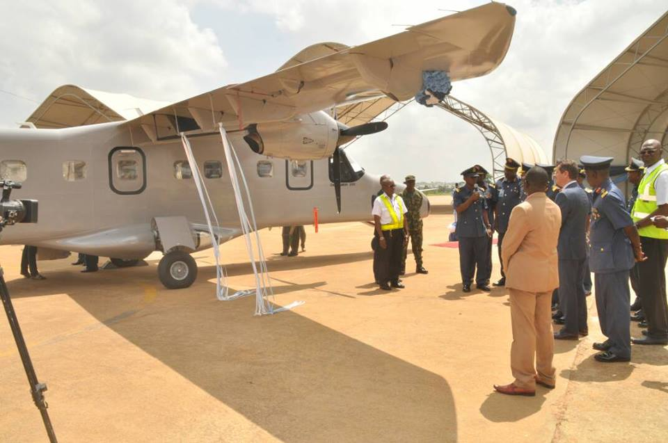 Nigerian Air Force Locally Reactivates Unmanned Aerial Vehicles In Kaduna.
